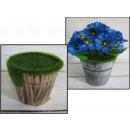 grossiste Plantes et pots: Pot garni de mousse de polystyrène insert ...