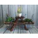 mayorista Plantas y macetas: Dr arriate triple  triple madera 60x50x29 cm
