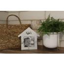 wholesale Pictures & Frames: Wooden frame cottage kids Vintage (19x19 cm)