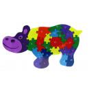 groothandel Bouwstenen & constructie: Houten puzzel, bouwstenen, puzzels hipcio ...