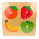 Puzzle di legno, puzzle, frutti matchowywanka