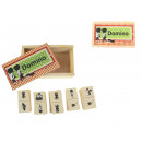 wholesale Wooden Toys: Wooden toy domino 14x88,5x4 cm
