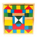 wholesale Toys: Wooden blocks 48 element 21x21 cm