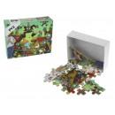 Mini puzzle en bois 40 élément 12x9.5x4 cm