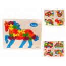 Großhandel Holzspielzeug:Holzmischpuzzle 22x18 cm