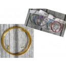 Dekoratív huzal 10 m vastag 1 mm-es kevert szín -