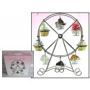 wholesale Small Parts & Accessories: Wire carousel  stand for muffins, cupcakes 44x31 c
