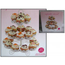 wholesale Garden & DIY store: Wire rack for 22  muffins, cupcakes 35x30 cm no: