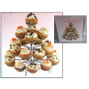wholesale Garden & DIY store: Wire rack for  muffins, cupcakes 33x28 cm no: 81