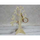 Wooden tree for jewelry 26x25 cm