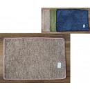 Tapis, tapis 60x40 cm garni de couleur mélangée