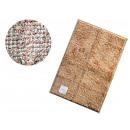 Rug, rectangular sidewalk, mix of patterns 60x40 c