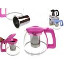 wholesale Houshold & Kitchen: Teapot, tea maker 1100 ml with metal