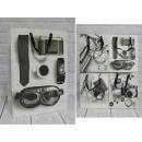 Sacchetto regalo E design per uomo 40x31x12 cm - 1