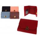 nagyker Táskák és utazási kellékek: Női dokumentumok, aranyszínű kupakkal 12x9