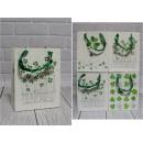 F sacchetto regalo trifogli 23x18x8 cm - 1 pz