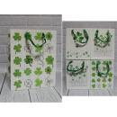 Trifogli borsa regalo 32x26x12 cm - 1 pz