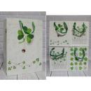 Trifogli borsa regalo 42x31x12 cm - 1 pz