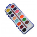 wholesale School Supplies: School colors watercolors 16 colors with a ...
