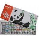 Water colors tempera in tubes 12 colors panda