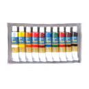 Malen Sie in den Röhren 12 ml 10 Farben 18.5x10 cm