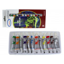 groothandel Stationery & Gifts: Verf in oliepijpen 25x11 cm (12 ml) - set