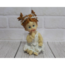 wholesale Figures & Sculptures: Angel figurine, white angel girl 17 cm