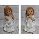 wholesale Figures & Sculptures: Angel figurine, white angel girl 22 cm