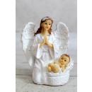 Figura angyal gyermek 9,6 cm - 1 darab keverékkel