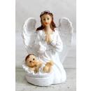 Figura angyal gyermek 12 cm - 1 darab keverékkel