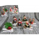 wholesale Figures & Sculptures: Figurine ceramic mix (chimney sweep, clover, podk