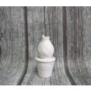 wholesale Plants & Pots: Figurine ceramic tulip flowerpot 12x6 cm (69009