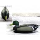Garden figurine duck 34x14x13 cm