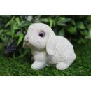 Figurina coniglietto pasquale 8x7 cm