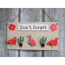 groothandel Keukengerei: Flamingos  Decoratieve bord  met clips om niet ...