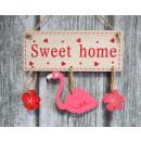 groothandel Keukengerei: Flamingos  Decoratieve bord  met hangers sweet ...