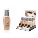 grossiste Maquillage: couleurs minérales  distributeur de fluide jour 1 P