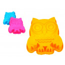 wholesale Casserole Dishes and Baking Molds: Silicone Owl Cake Mold 24x20 cm