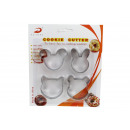 wholesale Casserole Dishes and Baking Molds: Molds for cutting cookies 4 biscuits