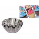 Großhandel Auflauf- und Backformen: Muffinformen aus Metall 8,5 cm - ein Satz von 5 s