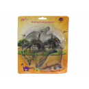 Molds, cookie cutters dinosaurs 4 piece