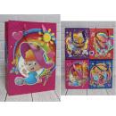 Sacchetto regalo G per ragazze 42x31x12 cm - 1 pz