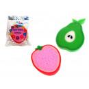 wholesale Cleaning: Sponge bath fruit less 10g - fruit mix