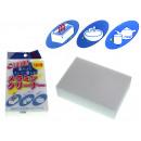 Großhandel Reinigung: Magischer weißer Schwamm 10x6,5x3 cm - 1 Stück in