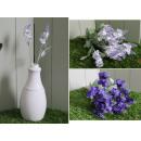 Gomba, 22 cm-es kettős levendula virág - 1 darab