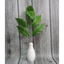 groothandel Kunstbloemen: Twig bladeren  langwerpig groen 35x25 cm