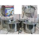 Großhandel Töpfe & Pfannen: Töpfe Suppentopf 24-30 cm Set 4 Stück + Sieb