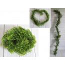 Ghirlanda, edera, verde, diametro 160 cm 10 cm