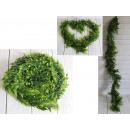 Ghirlanda, edera, verde, diametro 160 cm 13 cm