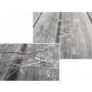 Una ghirlanda di cristalli su un filo per la decor
